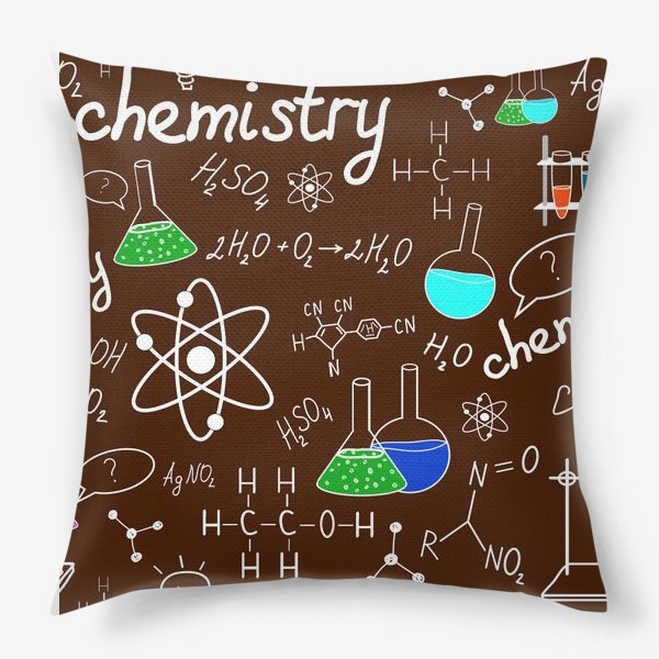 Подушка «Химия»