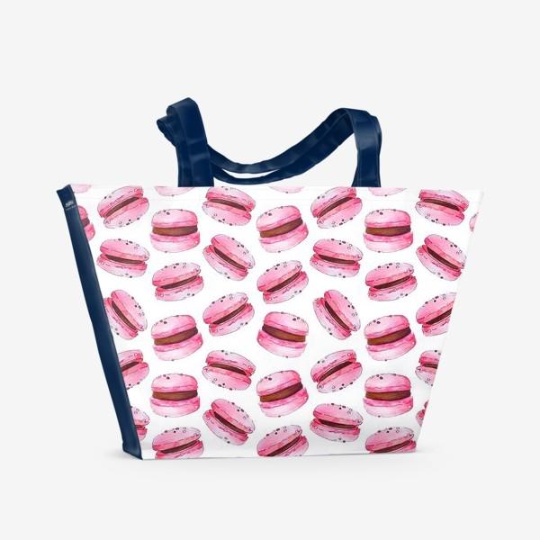 Пляжная сумка «Macaroon pattern»