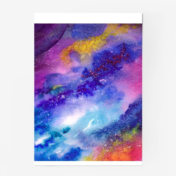 Постер «Космический фон. Вселенная.»