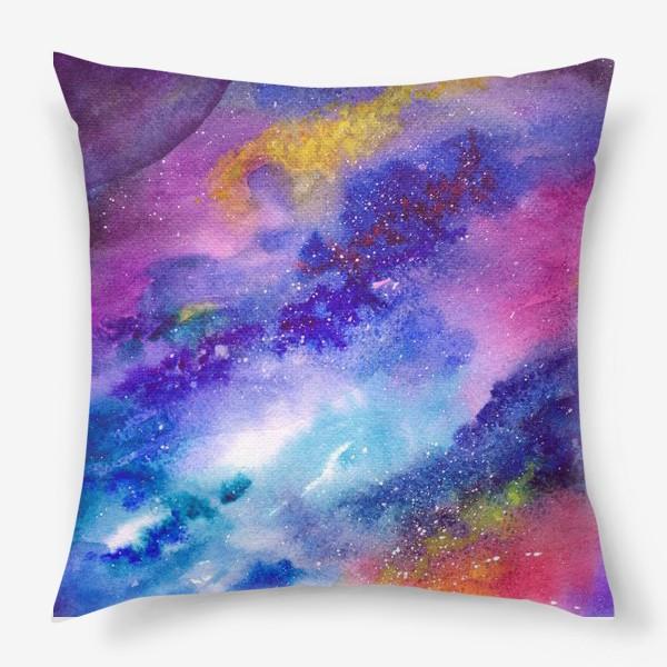 Подушка «Космический фон. Вселенная.»