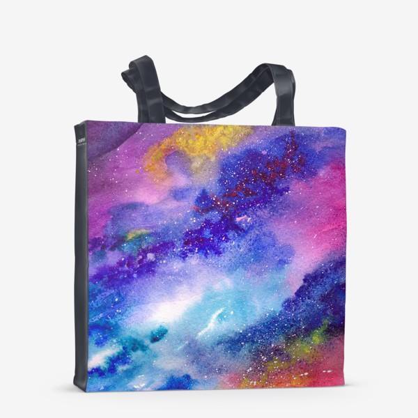 Сумка-шоппер «Космический фон. Вселенная.»