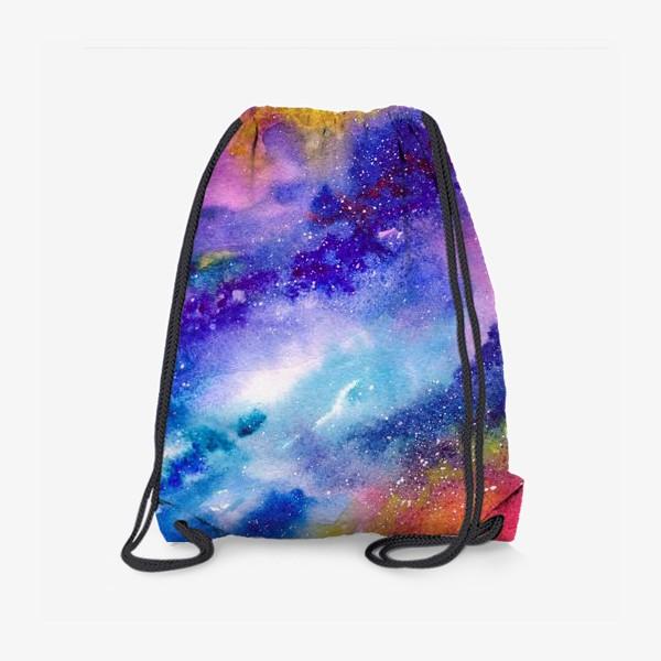 Рюкзак «Космический фон. Вселенная.»