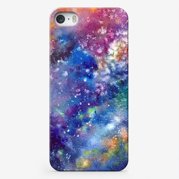 Чехол iPhone «Космический фон. Вселенная.»
