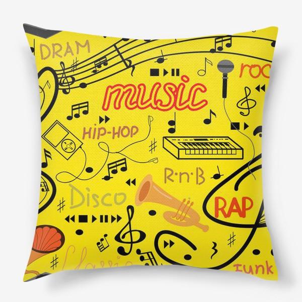 Подушка «Музыка»