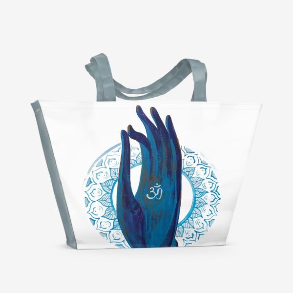 Пляжная сумка «Om»