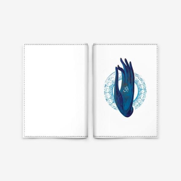 Обложка для паспорта «Om»