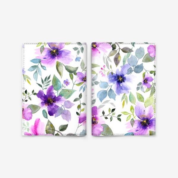 Обложка для паспорта «Цветочное лето»