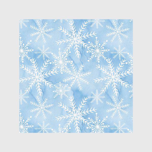 Скатерть «Белые Снежинки»
