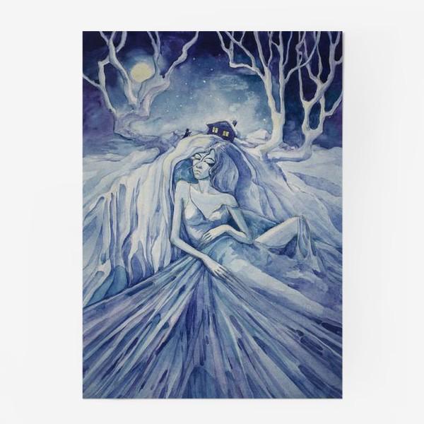 Постер «Снежная ночь»