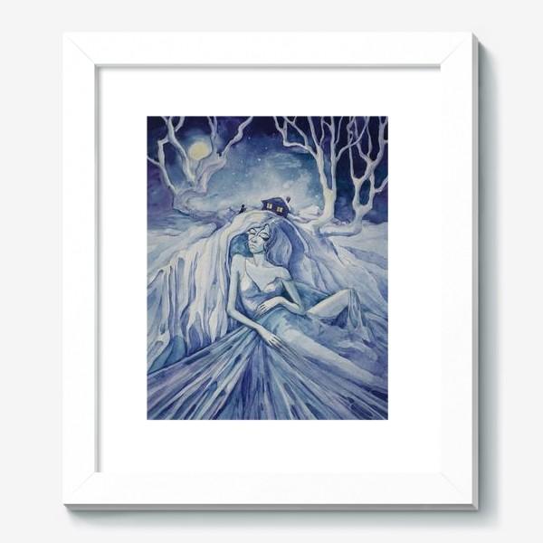 Картина «Снежная ночь»