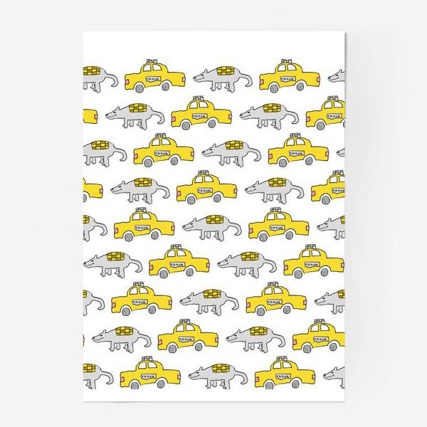 Постер «Мыша и Таксо»