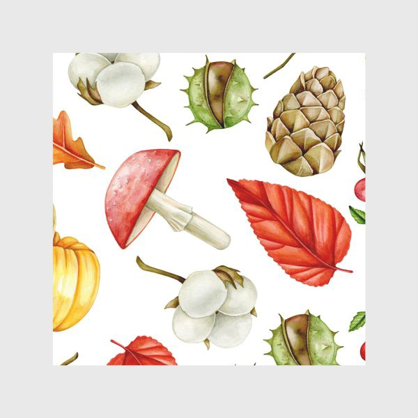 Скатерть «Осенний паттерн_2»