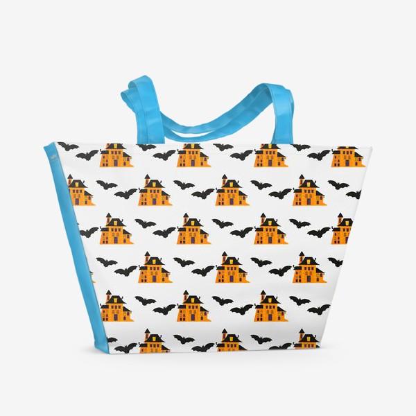 Пляжная сумка «Happy Halloween »