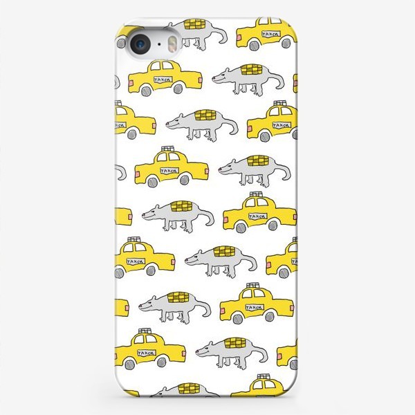 Чехол iPhone «Мыша и Таксо»