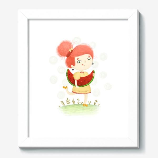 Картина «Арбузная девочка»