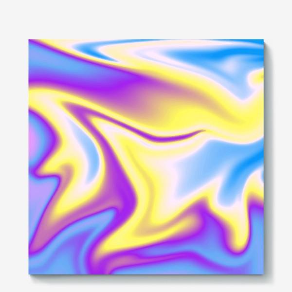 Холст «Голографический фон ( Holographic background )»