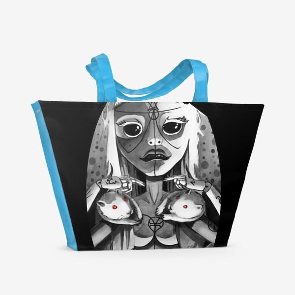 Пляжная сумка «YO-LANDI VI$$ER»
