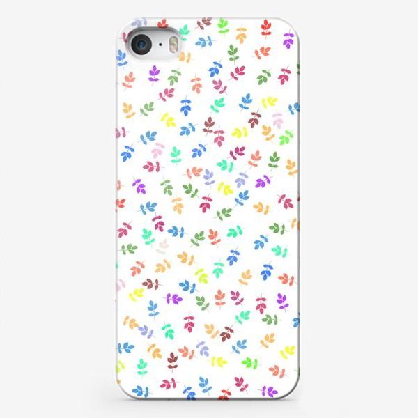 Чехол iPhone «Яркий листопад »