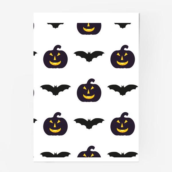 Постер «Black Halloween»