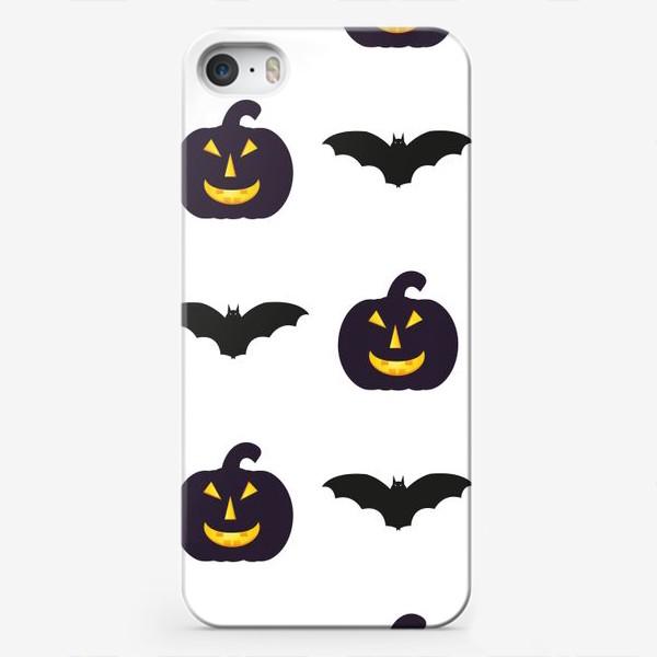Чехол iPhone «Black Halloween»