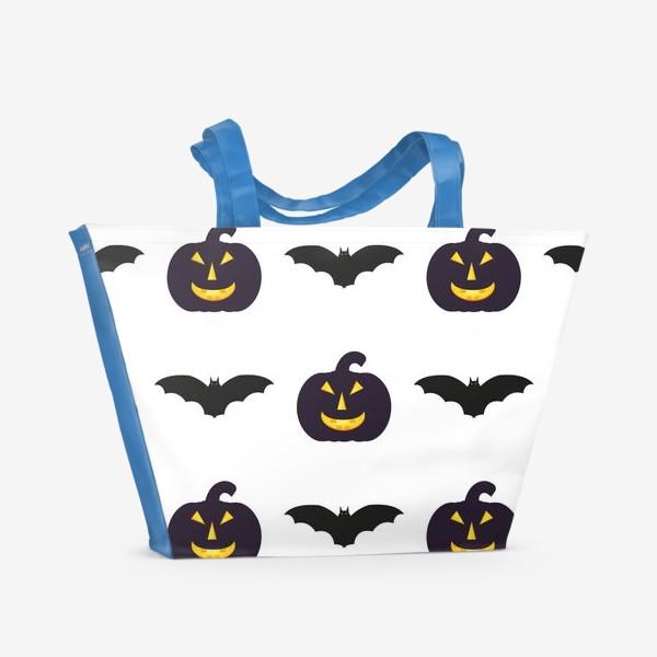 Пляжная сумка «Black Halloween»
