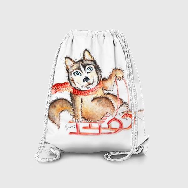 Рюкзак «Хаски. Салазки»
