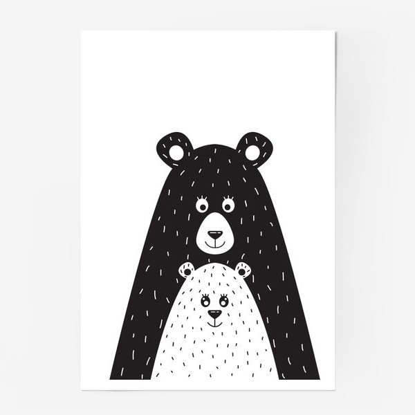 Постер «Мишки»
