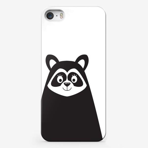 Чехол iPhone «Енот»