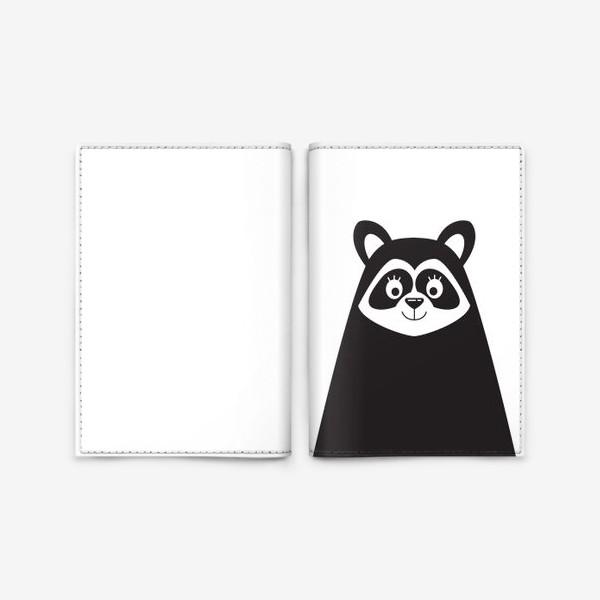 Обложка для паспорта «Енот»