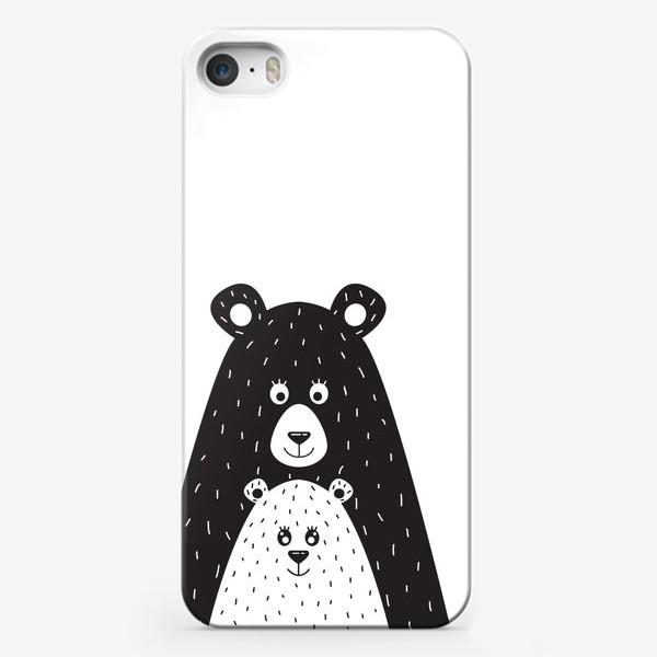 Чехол iPhone «Мишки»
