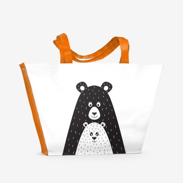 Пляжная сумка «Мишки»