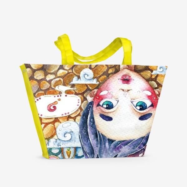 Пляжная сумка «Загадки Кроличьей норы»