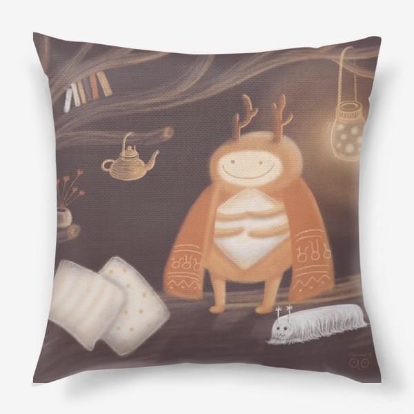 Подушка «Уютный жук»