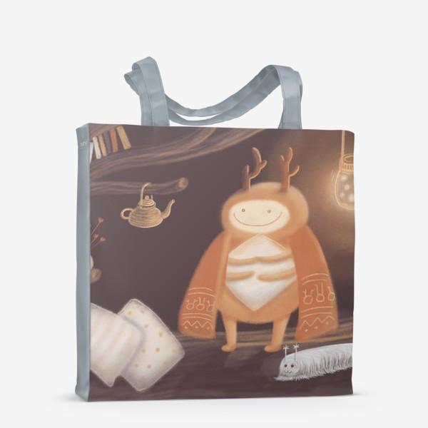 Сумка-шоппер «Уютный жук»