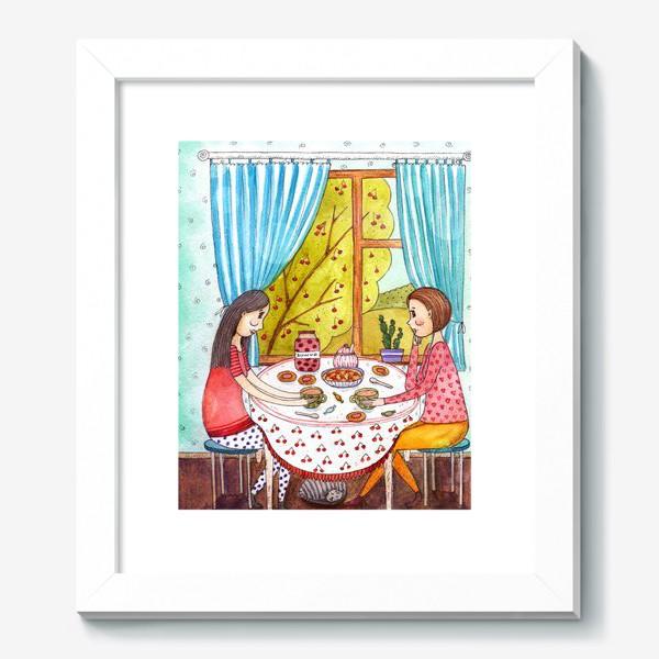 Картина «Чаепитие»