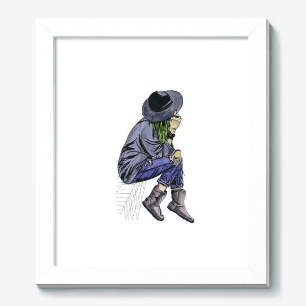 Картина «Девушка в шляпе»