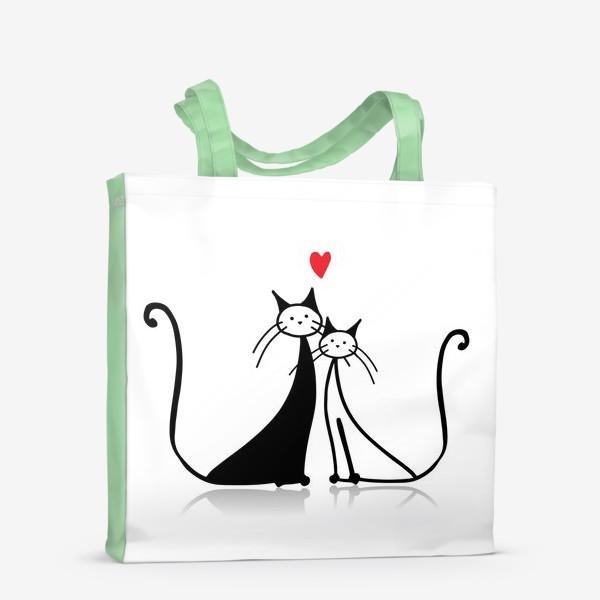 Сумка-шоппер «Cats»
