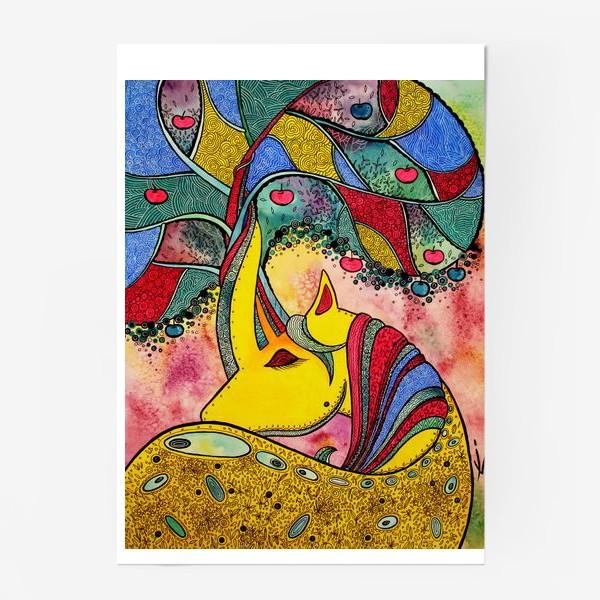 Постер «Золотой Единорог»