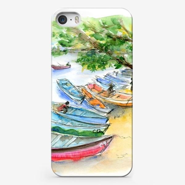 Чехол iPhone «Лодочки»