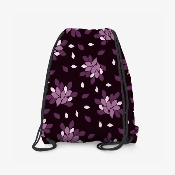 Рюкзак «Фиолетовый паттерн»