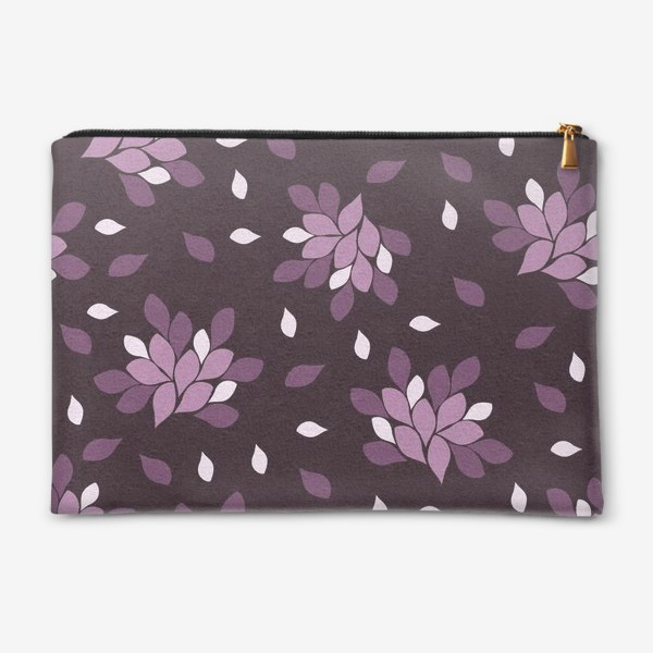 Косметичка «Фиолетовый паттерн»