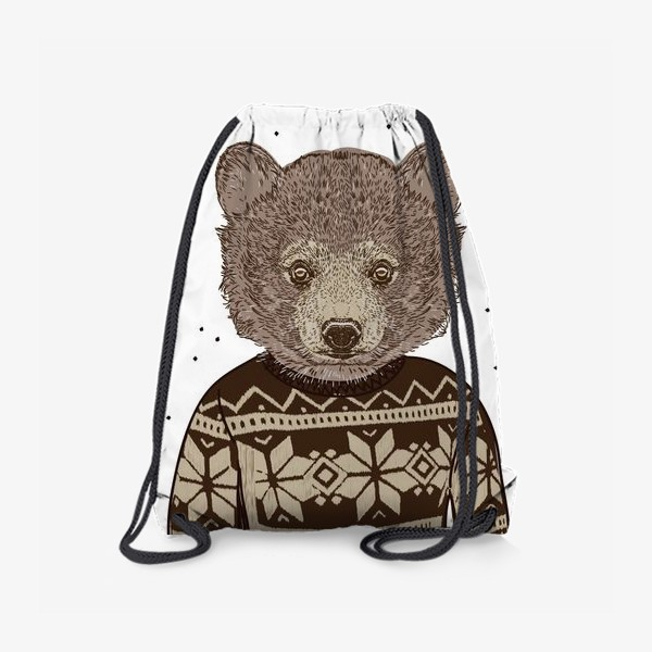 Рюкзак «Медведь в свитере»