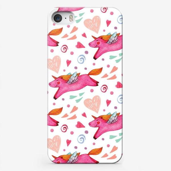 Чехол iPhone «Единороги»