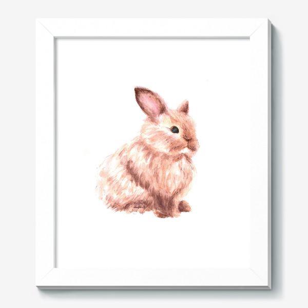 Картина «Пушистый кролик»