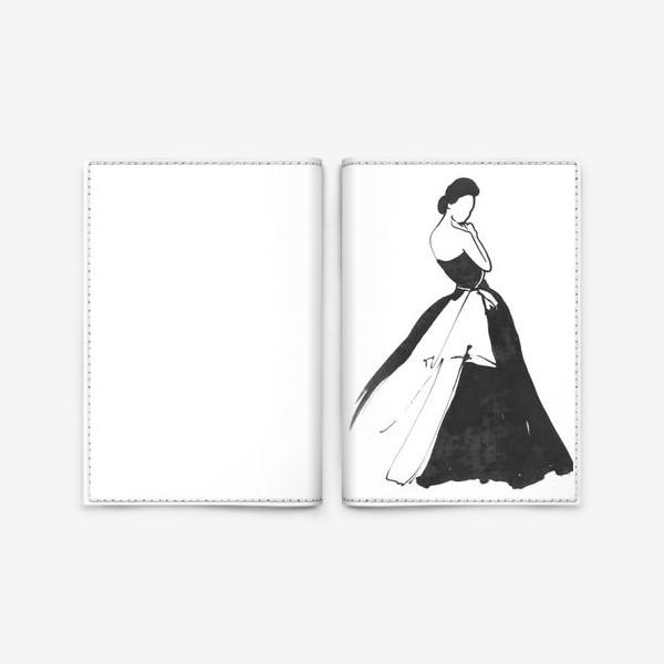 Обложка для паспорта «Незнакомка»