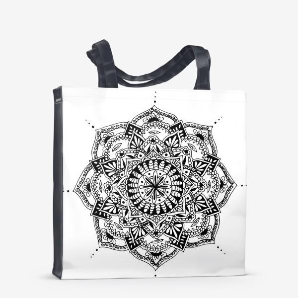 Сумка-шоппер «Этническая мандала»
