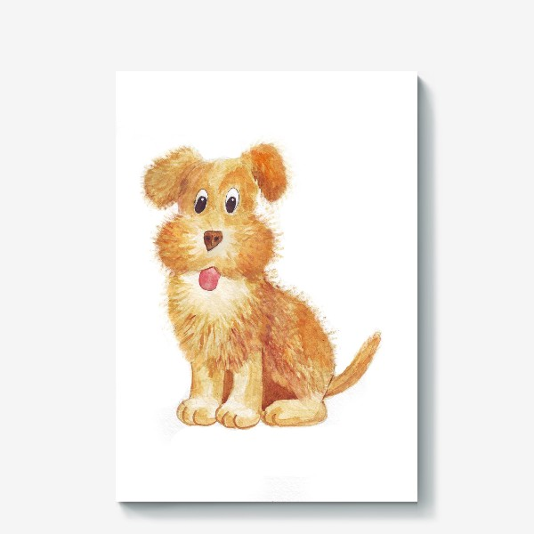 Холст «собака»