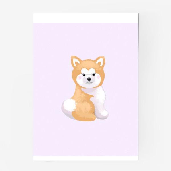Постер «Пушистый пес»