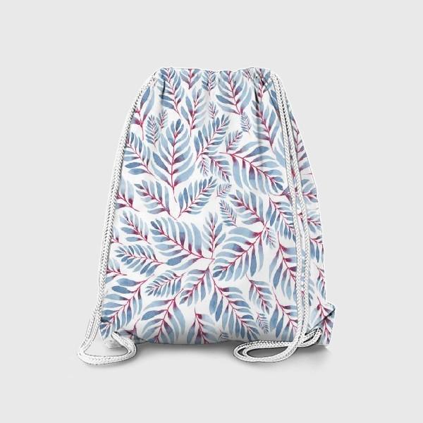 Рюкзак «Листья паттерн»