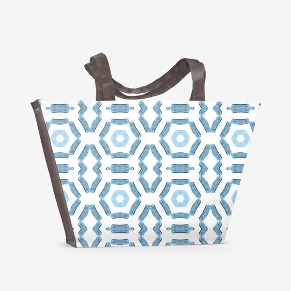 Пляжная сумка «Геометрический узор»